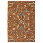 Fischer Hand-Tufted Paprika Area Rug Rug Size: Rectangle 4' x 6'