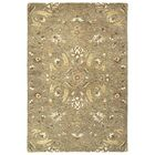 Fischer Hand-Tufted Light Brown Area Rug Rug Size: Rectangle 4' x 6'