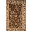 Gattis Traditional Hand-Tufted Brown/Beige Area Rug Rug Size: Rectangle 9' x 12'