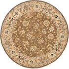 Helena Floral Rug Rug Size: Round 8'
