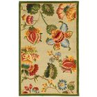 Helena Hand-Hooked Wool Beige Area Rug Rug Size: Rectangle 8'9