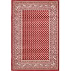 Gillam Red Area Rug Rug Size: Rectangle 9' x 12'