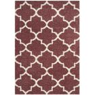 Bingham Pink Indoor  Area Rug Rug Size: Rectangle 5'3