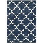 Bingham Blue/White Area Rug Rug Size: Rectangle 8'6
