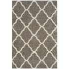 Buford Gray/Ivory Area Rug Rug Size: Rectangle 5'1
