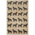 Allgood Doggies Natural Indoor/Outdoor Area Rug Rug Size: Rectangle 3'6