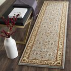 Ottis Light Blue/Ivory Area Rug Rug Size: Runner 2'3