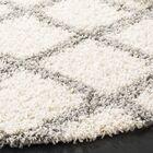 Unadilla Ivory/Gray Area Rug Rug Size: Rectangle 5'1