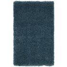 Parrish Blue Area Rug Rug Size: Round 6'7