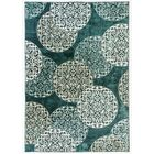 Morocco Blue Area Rug Rug Size: Rectangle 5'3