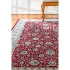 Morocco Red Area Rug Rug Size: Rectangle 5'3