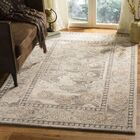 Amory Hand-Tufted Wool Light Gray Area Rug Rug Size: Rectangle 5' x 8'