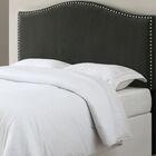 LaCrosse Upholstered Headboard Size: King/California King, Upholstery: Gray