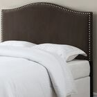 LaCrosse Upholstered Headboard Upholstery: Brown, Size: Full/Queen