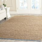 Elston Hand-Woven Light Beige/Natural Area Rug Rug Size: Rectangle 4' x 6'