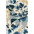 Mapletown Hand-Tufted Yellow/Gray Area Rug Rug Size: Rectangle 5' x 7'6