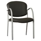 Oleanna Guest Chair Seat Finish: Black Vinyl