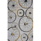 Arguello Hand-Hooked Gray Area Rug Rug Size: Round 7'6