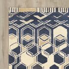 Bushwick Hand-Tufted Blue/Beige Area Rug Rug Size: Rectangle 8' x 11'