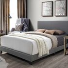 Colwell Queen Upholstered Panel Bed