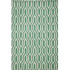 Trent Hand-Hooked Green Area Rug Rug Size: Rectangle 5' x 7'