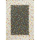 Chesterfield Hand-Woven Charcoal Area Rug Rug Size: 3'6