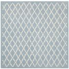 Wilkin Blue & Ivory Area Rug Rug Size: Square 8'9