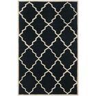 Wilkin Dark Blue Moroccan Rug Rug Size: Rectangle 3' x 5'