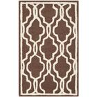 Martins Hand-Tufted Wool Dark Brown Area Rug Rug Size: Rectangle 3' x 5'