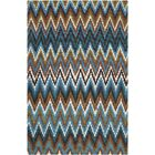 Sonny Green & Blue Area Rug Rug Size: Rectangle 4' x 6'