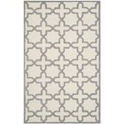 Martins Ivory / Silver Area Rug Rug Size: Rectangle 5' x 8'