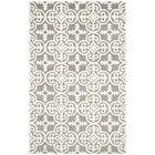 Wilkin Dark Grey / Ivory Contemporary Rug Rug Size: Rectangle 8' x 10'
