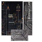 Spada 3 Piece New York City Area Rug Set