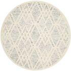 Medina Hand Tufted Gray/Ivory Area Rug Rug Size: Rectangle 8' x 10'