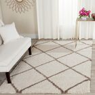 Elizabeth Street Ivory/Brown Area Rug Rug Size: Rectangle 9' x 12'