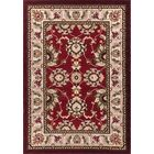 Harbert Traditional Red Area Rug Rug Size: 9'3