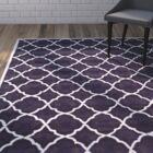 Wilkin Purple/Ivory Moroccan Area Rug Rug Size: Rectangle 5' x 8'