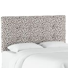 Grays Ferry Tufted Neo Leo Upholstered Panel Headboard Size: Queen