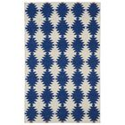Marble Falls Navy Geometric Area Rug Rug Size: Rectangle 9' x 12'