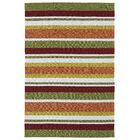 Staple Hill Tangerine Indoor/Outdoor Area Rug I Rug Size: Runner 2' x 6'