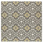 Marble Falls Charcoal Geometric Area Rug Rug Size: Square 8'