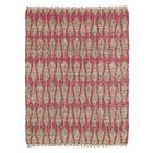 Millbourne Ivory & Pink Area Rug Rug Size: Runner 2' x 6'