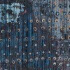 Cumbernauld Blue/Orange Area Rug Rug Size: Rectangle 8' x 10'