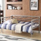 Carvell Metal Daybed Finish: Silver