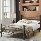 Carver Platform Bed Color: Charcoal, Size: Twin