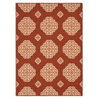 Shumake New Medallion Red Area Rug Rug Size: Rectangle 5' x 7'
