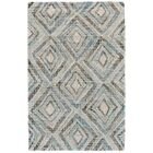 Wells Hand-Tufted Blue Area Rug Rug Size: Rectangle 9'6