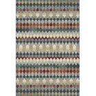 Perrinton Blue Area Rug Rug Size: Rectangle 5'3