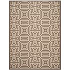 Jefferson Place Natural/Brown Indoor/Outdoor Area Rug Rug Size: Rectangle 8' x 11'