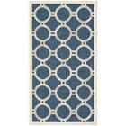 Jefferson Place Navy/Beige Outdoor Area Rug Rug Size: Rectangle 5'3